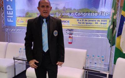 Professor e Mestre Moacir Augusto de Souza fala sobre sua participação na Comissão Científica do 35º Congresso FIEP