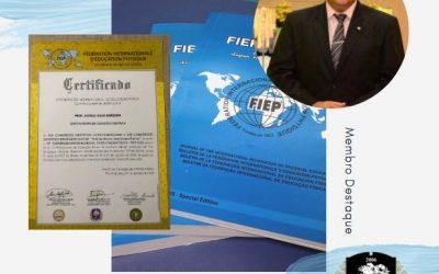 Unilogos,  Chancela pela 3ª vez  maior Congresso de Educação Física do Mundo. Professor Doutor Estélio Silva Barbosa é destaque na Comissão Científica