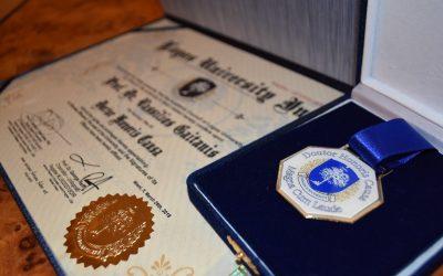Magnifico Reitor da Universidade Santa Úrsula (USU) recebe Titulo de Doutor Honoris Causa da Logos University Int.